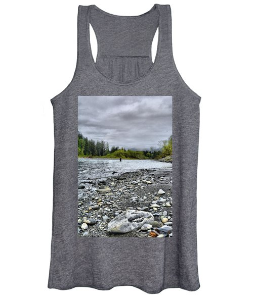 Solitude On The River Women's Tank Top