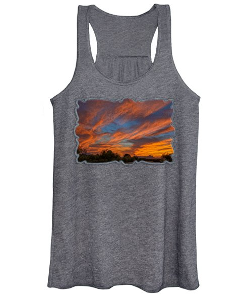 Sombrero Sunset Op27 Women's Tank Top