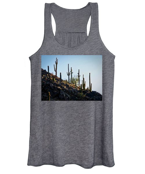 Sonoran Desert Saguaro Slope Women's Tank Top