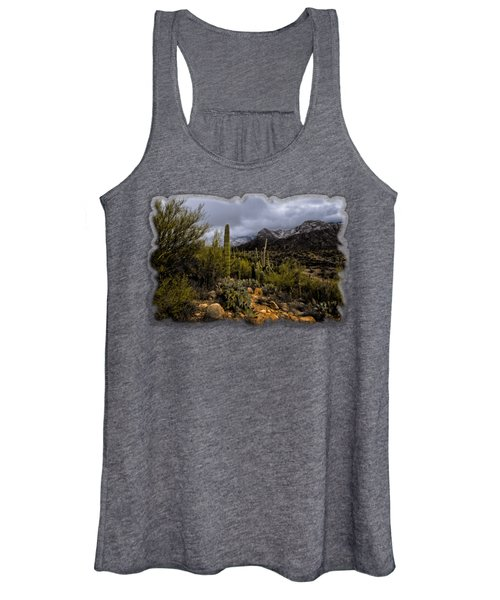 Sonoran Winter No.1 Women's Tank Top