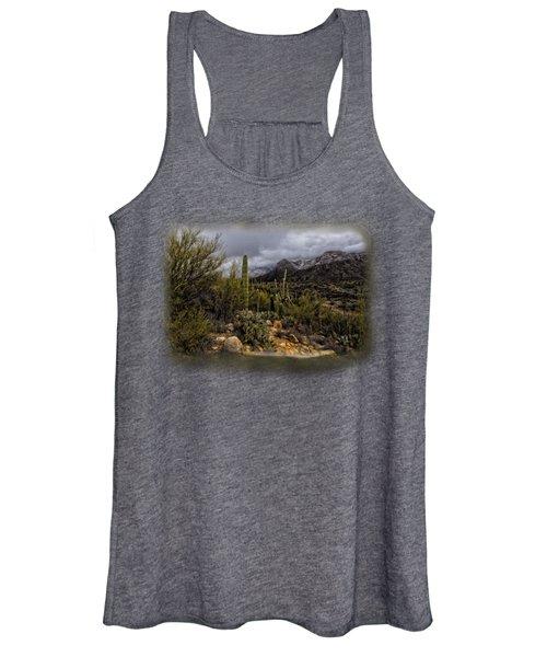 Sonoran Winter No.3 Women's Tank Top