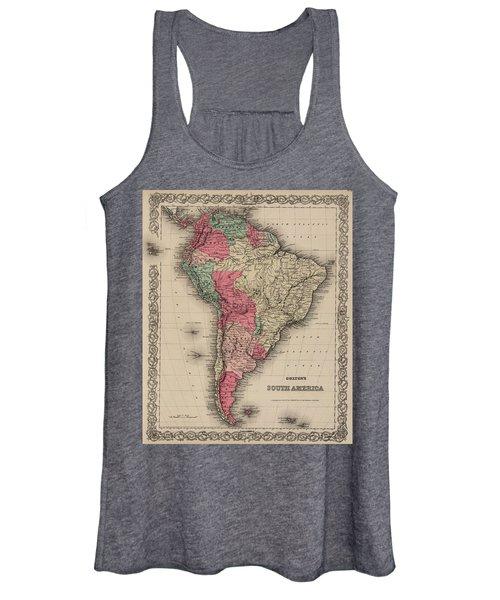 South America Women's Tank Top