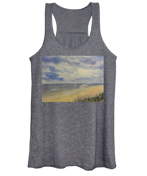 South Beach From The Dunes Women's Tank Top