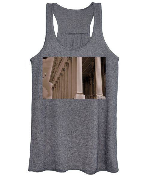 South Carolina State House Columns  Women's Tank Top