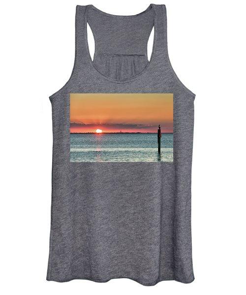 South Padre Island Sunset Women's Tank Top