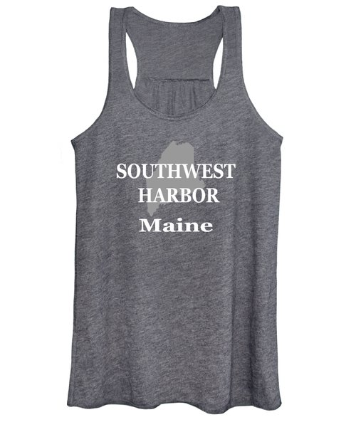 Southwest Harbor Maine State City And Town Pride  Women's Tank Top