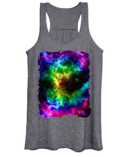 Space Abstract Women's Tank Top