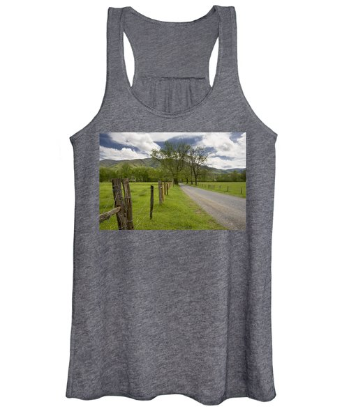 Sparks Lane In Cade Cove Women's Tank Top