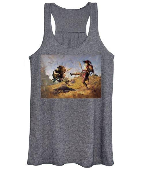 Spartan Hoplite - 12 Women's Tank Top