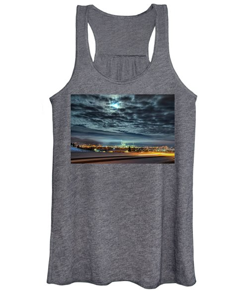 Spearfish Under The Moon Women's Tank Top