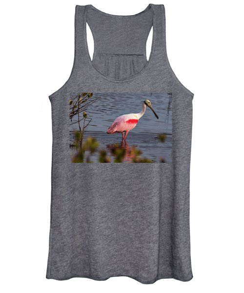 Spoonbill Fishing Women's Tank Top