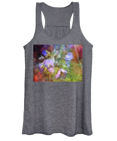 Spiderwort 1398 Idp_2 Women's Tank Top