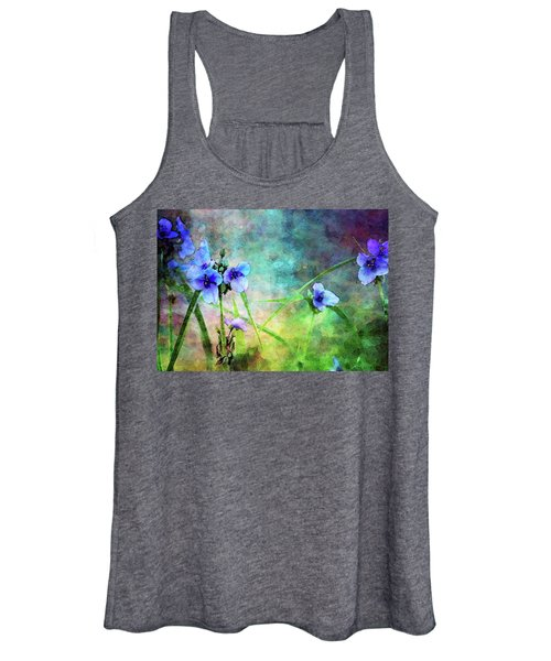 Spiderwort Dance 0115 Idp_2 Women's Tank Top