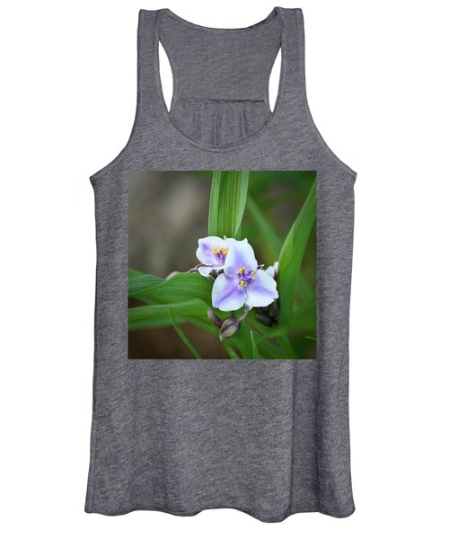 Spiderwort Women's Tank Top