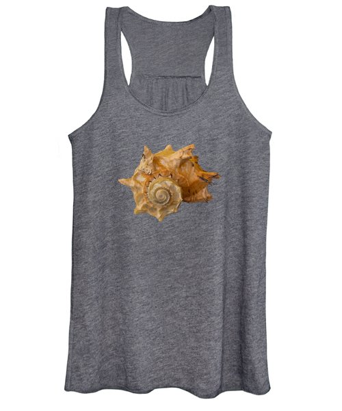 Spiral Shell Transparency Women's Tank Top