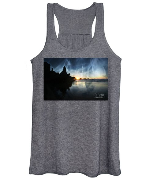 Spirits At Sunset Women's Tank Top