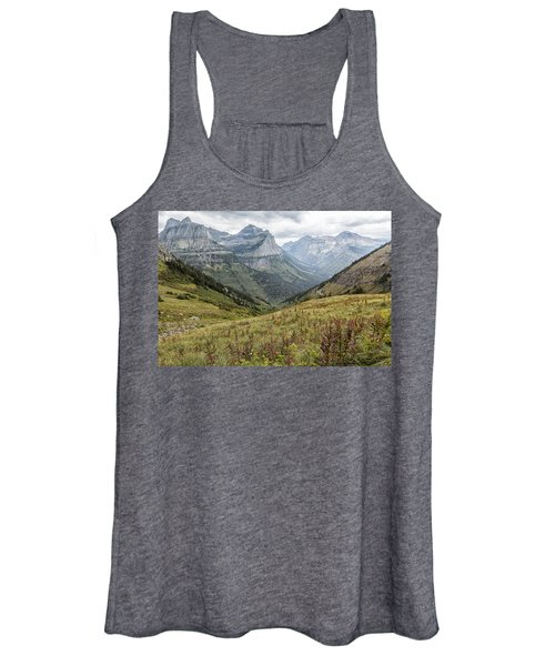 Splendor From Highline Trail - Glacier Women's Tank Top