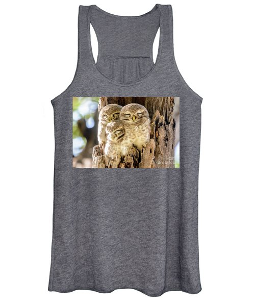 Spotted Owlets Women's Tank Top