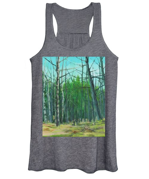 Spring Aspens Women's Tank Top