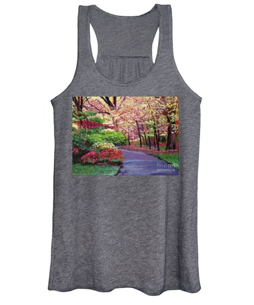 Spring Blossoms Impressions Women's Tank Top