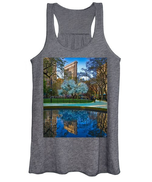 Spring In Madison Square Park Women's Tank Top