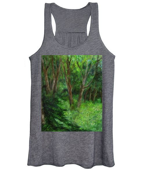 Spring In The Forest Women's Tank Top