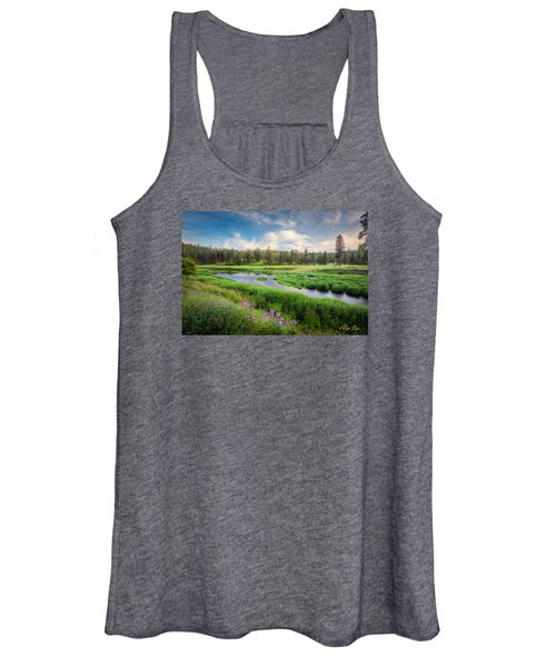 Spring River Valley Women's Tank Top