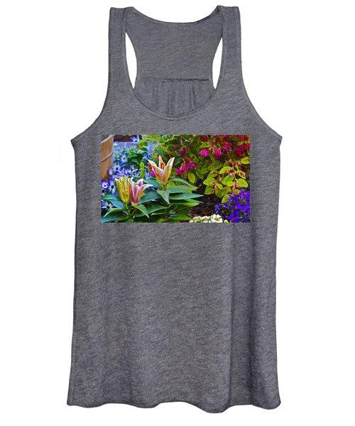 Spring Show 15 Lilies Women's Tank Top