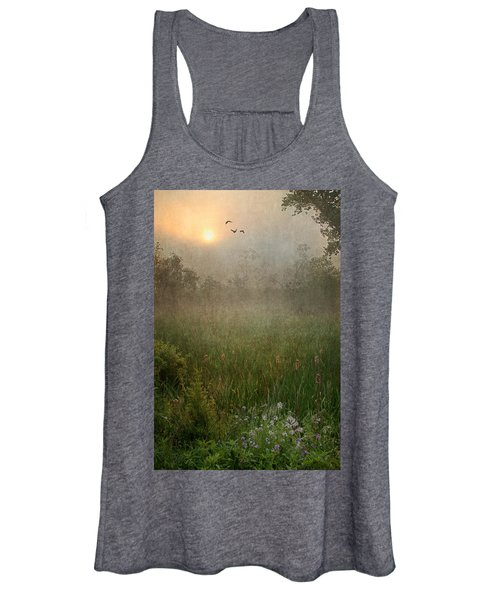 Spring Sunrise In The Valley Women's Tank Top