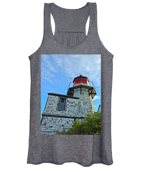 Squirrel Point Lighthouse Women's Tank Top
