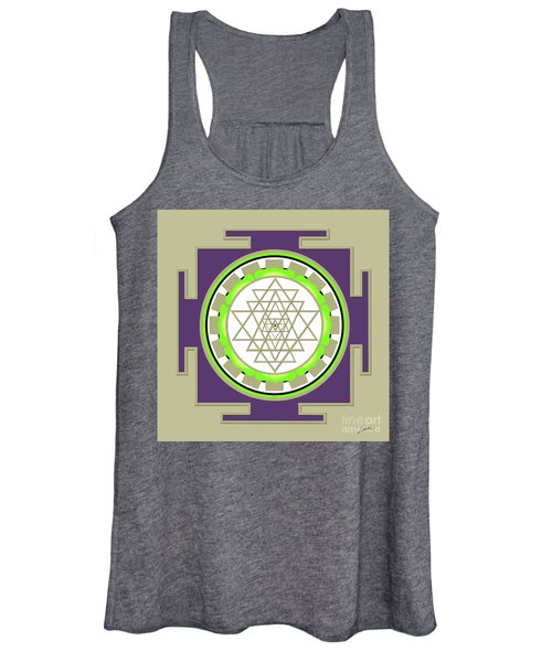 Sri Yantra Of Prosperity Women's Tank Top