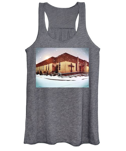 St. Isaac Jogues In The Snow Women's Tank Top
