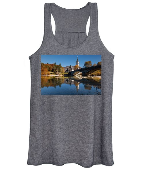 St. John The Baptist On The Lake Bohinj Women's Tank Top
