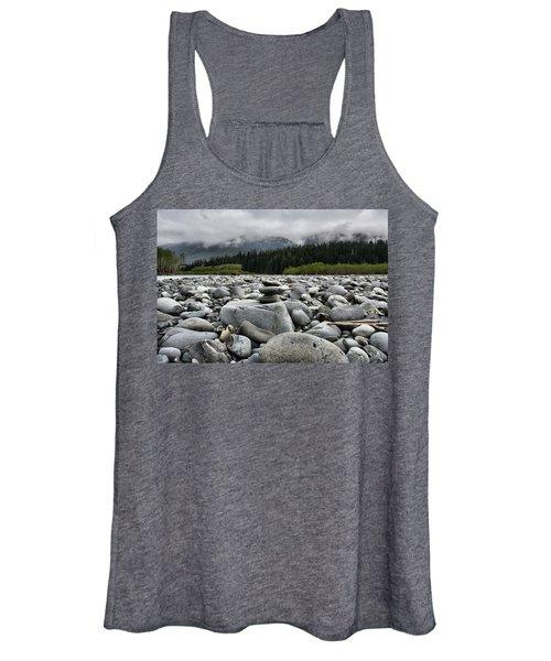 Stacked Rocks Women's Tank Top
