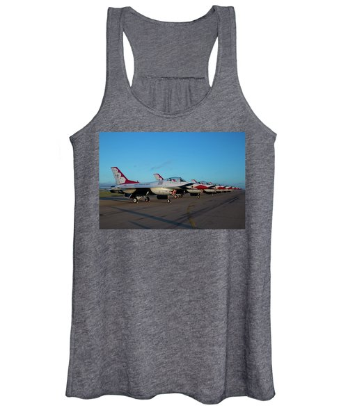 Standing In Formation Women's Tank Top