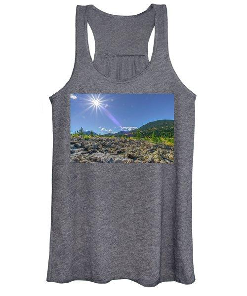 Star Over Creek Bed Rocky Mountain National Park Colorado Women's Tank Top