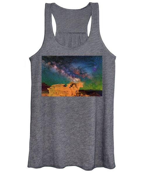 Stargazing Bull Women's Tank Top