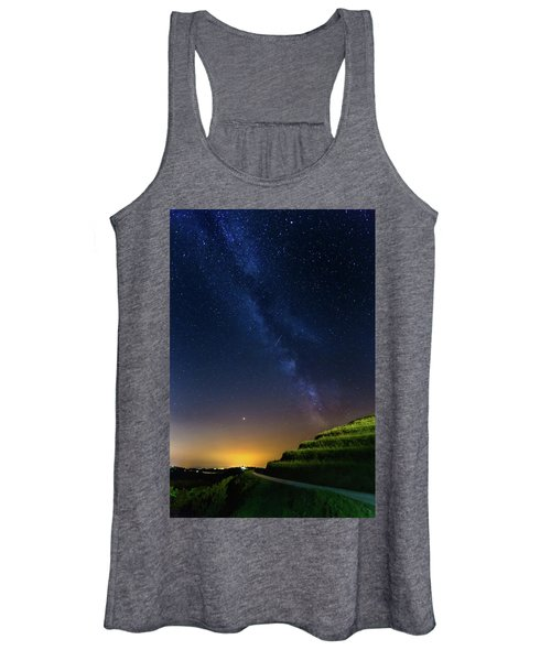 Starry Sky Above Me Women's Tank Top