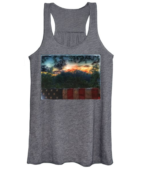 Stars Stripes And Skies Forever Women's Tank Top