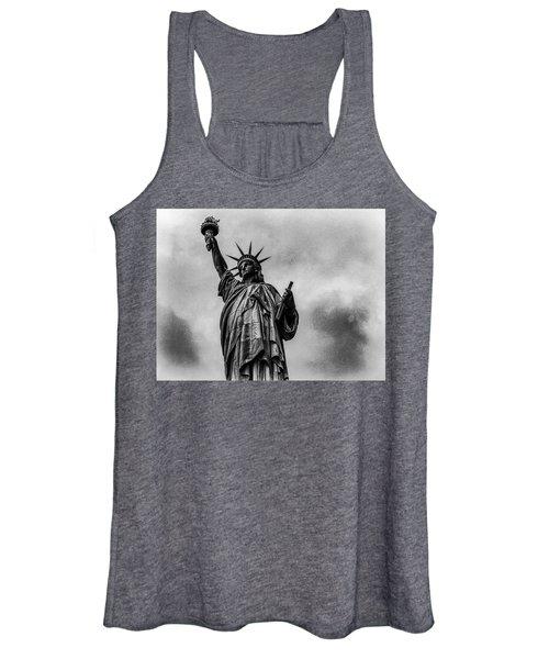 Statue Of Liberty Photograph Women's Tank Top