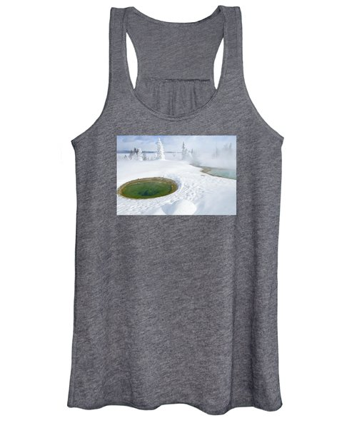 Steam And Snow Women's Tank Top