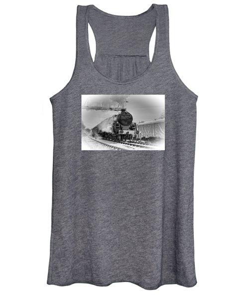 Steam Locomotive 73129 Women's Tank Top