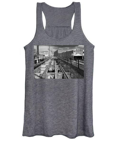 Steelyard Tracks 1 Women's Tank Top