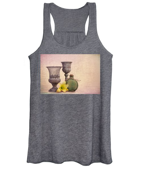 Still Life With Yellow Lily Women's Tank Top