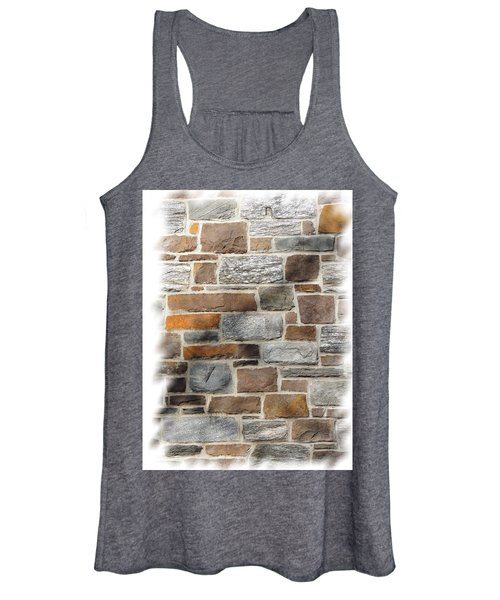 Stone Wall Women's Tank Top
