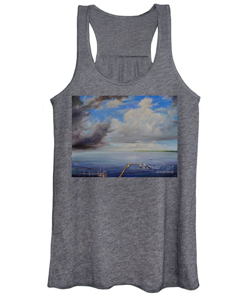 Storm On The Indian River Women's Tank Top
