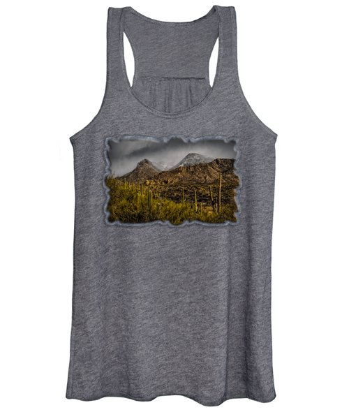 Storm Over Catalinas 15 Women's Tank Top