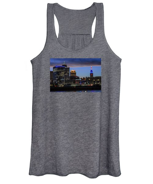 Storm Over Cleveland Women's Tank Top