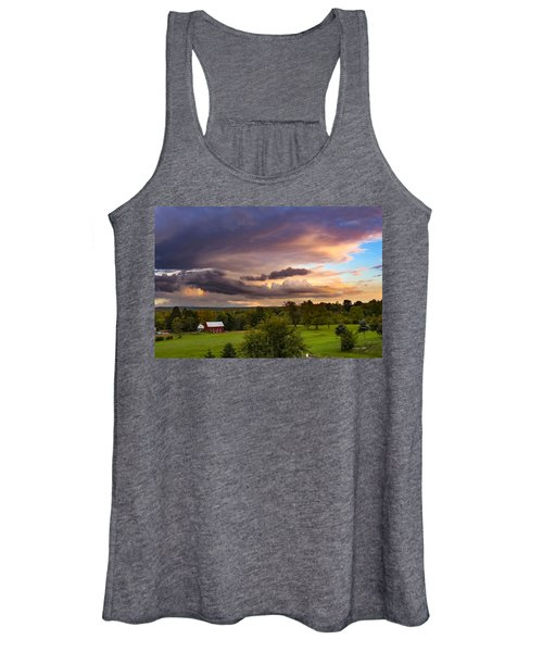 Stormy Clouds Women's Tank Top