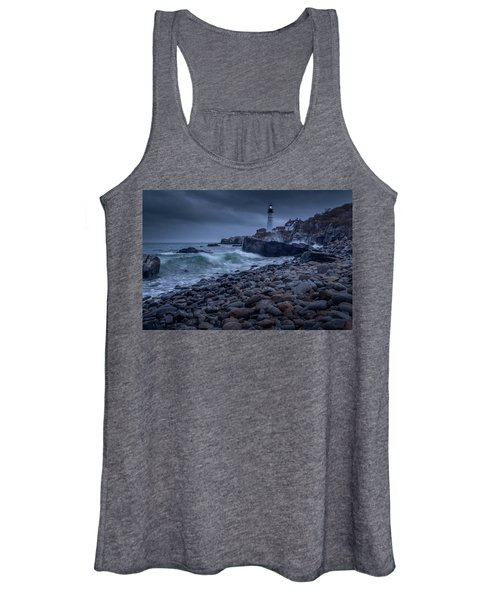 Stormy Lighthouse Women's Tank Top